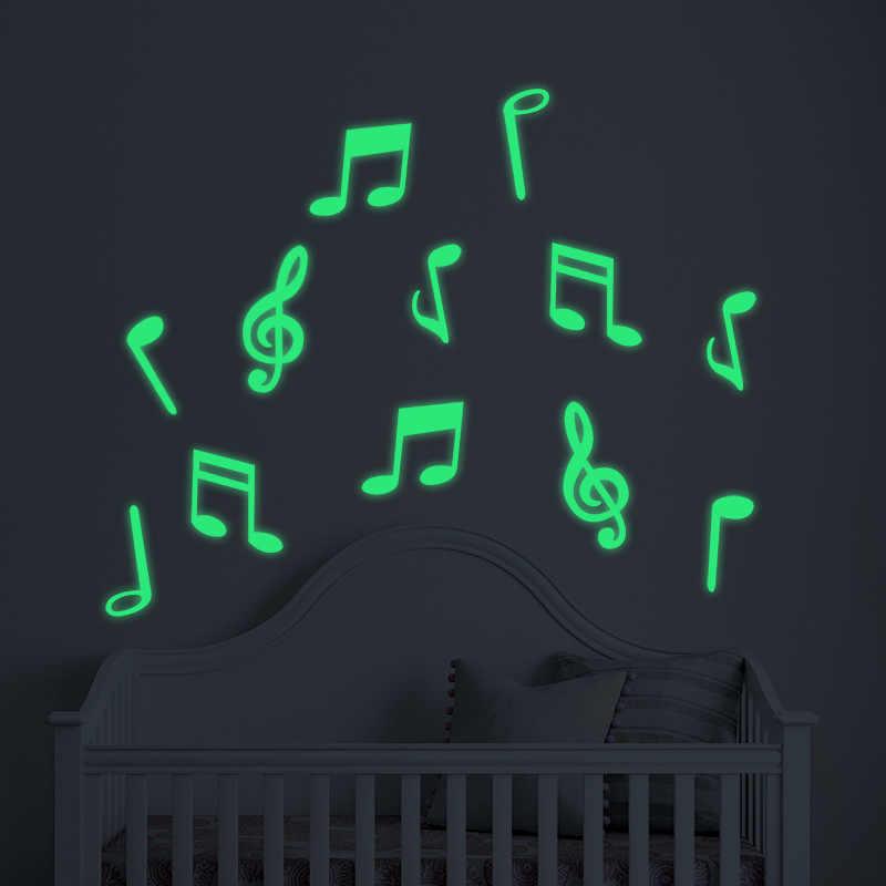 子供星空寝室リビングルーム蛍光ダーク発光壁のステッカー上のdiyデカールスターと月エネルギー