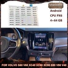 Android Auto Video Interface Multimedia player Für volvo S60 V60 XC40 XC60 XC90 S90 V90 V40 auto Stereo Empfänger Radio dekodierung