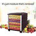 Home Lebensmittel Gemüse Dörr Obst Tee Medizin Luft Trockner Lebensmittel Obst Trockner Farbe Optional Maschine-in Dörrgeräte aus Haushaltsgeräte bei
