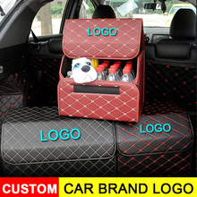 Car Trunk Organizer Eco-Friendly Super Strong & Durable Collapsible Cargo Storage Bags For Auto Trucks SUV Trunk Box collapsible car compartment trunk bag felt organizer suv multipurpose storage gray