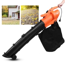 AC 220V Electric Leaf Blower Handheld Leaf Cleaner Sweeper Air Blower For Home Garden