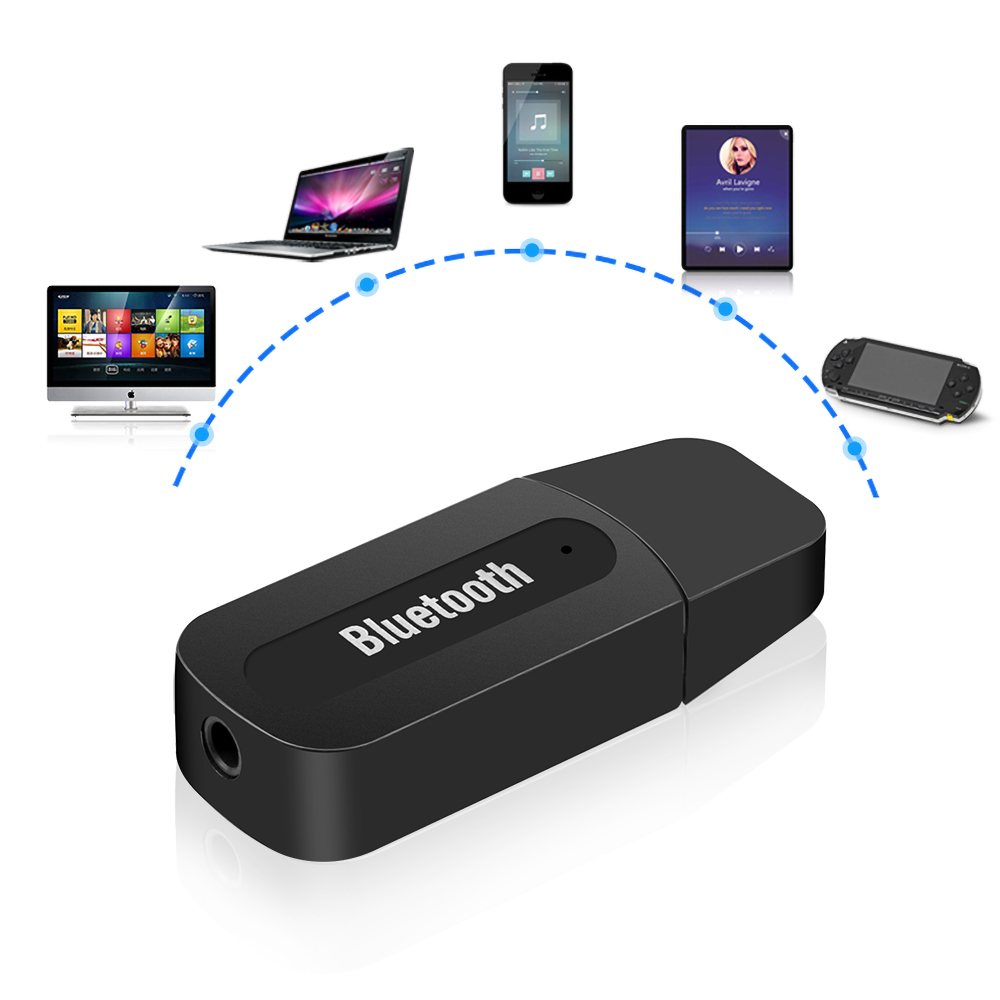 USB Adapter Bluetooth AUX Wireless Mini Music Receiver Stereo Sound for iPhone Samsung Mi Car Kit Music Receiver Adapter