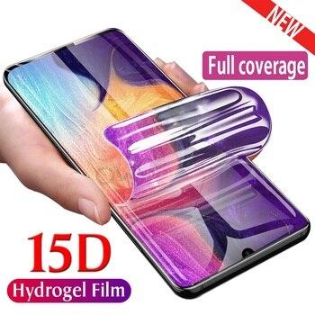 Перейти на Алиэкспресс и купить Полное покрытие для Blu S1 G90 G80 G60 G70 G8 V9 G9 Pro защита экрана Гидрогелевая пленка защитная пленка для Vivo XL5 X6 не стекло