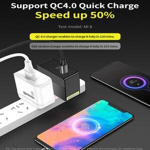 "Image 4 - רוק 30W כפולה יציאת תשלום מהיר עבור האיחוד האירופי ארה""ב בריטניה נייד טלפון מטען PD3.0 QC4.0 FCP SCP טעינה מהירה עבור iPhone X 8 Huawei P20 P30"