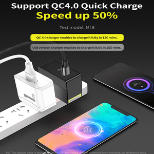 Image 4 - ROCK 30W Dual Port Fast Charge for EU US UK Mobile Phone Charger PD3.0 QC4.0 FCP SCP Quick Charge for iPhone X 8 Huawei P20 P30