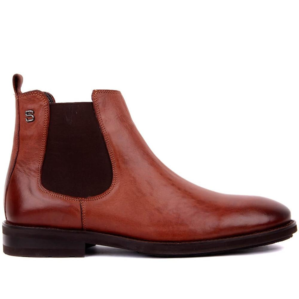 Sail-Lakers Chelsea Boots Men Suede Genuine Leather Decent Men Ankle Boots Original Male Short Casual Shoes British Style Winter Spring Boot