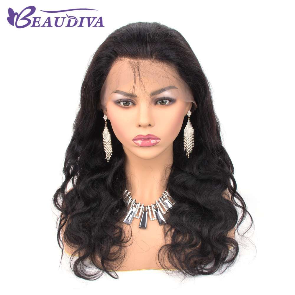 Brazilian Lace Frontal Human Hair Wigs For Black Women With Baby Hair Lace Wig BEAUDIVA Hair Pre Plucked Hairline Bleached Knots