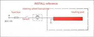 Image 2 - Auto lenkrad abdeckung heizung original Innen lenkung warm beheizt Zubehör für Toyota Nissan Honda Abdeckungen