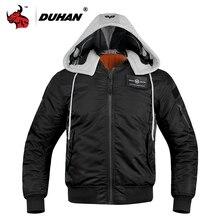 Duhan Winter Motorjas Winddicht Thermische Motor Jas Waterdicht Moto Kleding Beschermende Kleding Jaqueta Motociclista