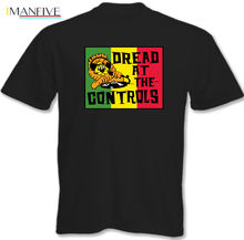 Dread At The Controls - Mens T-Shirt Mikey Clash Reggae Record Label Tshirt O-Neck Summer Personality Fashion Men T-Shirts