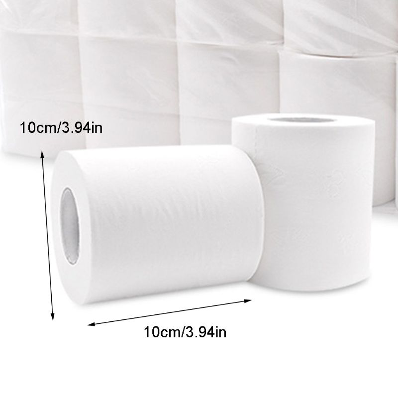 Roll Paper , Home Household 3 Layers Bath Toilet Paper White Soft
