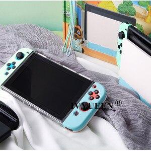 Image 3 - Ivyueen Voor Nintendos Schakelaar Ns Console Animal Crossing Beschermende Hard Case Voor Nintend Schakelaar Joycon Vreugde Con Back Shell Cover