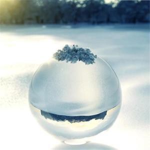 Image 4 - 60 Mm 80 Mm Fotografie Crystal Lens Bal Aziatische Quartz Clear Magic Glas Bal W/Draagbare Tas Voor Foto schieten