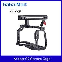 Andoer C9 هيكل قفصي الشكل للكاميرا مع مقبض علوي قبضة فيديو فيلم صنع استقرار ل Blackmagic جيب سينما كاميرا 4K/6K BMPCC 4K 6K