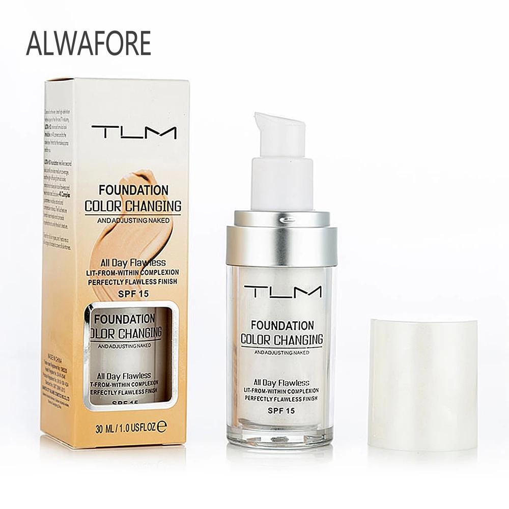TLM 30 мл увлажняющий Жидкий тональный крем с увлажняющим эффектом для длительного макияжа