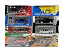 1: 64 INNO64 Honda Civic Type R Fit Accord Mitsubishi EVO Toyota Corolla Levin Rennen Diecast Modell Auto