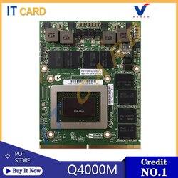 Quadro 4000M Q4000M GDDR5 2GB Video Grafische Kaart Met X-Beugel N12E-Q3-A1 Voor Dell M6600 M15X HP 8740W 8760W 100% Test OK