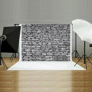 Image 3 - Brick Stone Texture Wall Photography Backdrops Wooden Floor Backgrounds for Toy Photo Studio Baby Shower Newborn Children Photo