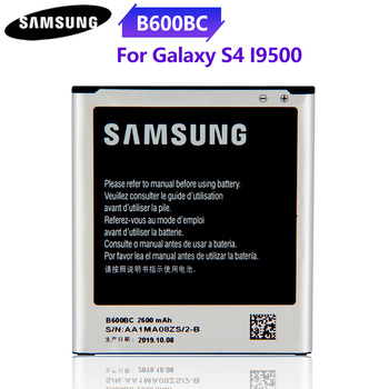 Original Battery B600BC B600BE B600BU For Samsung GALAXY S4 I9500 I9505 GT-I9506 I9507 I9508 SCH-P709E P709E i959 i337 2600mAh s4 lcd for samsung galaxy s4 display screen i9505 i9500 i9505 i9506 i9515 i337 lcd touch display digitizer with frame i9500 lcd