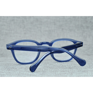 Image 5 - Handmade Lemtosh Johnny Depp Glasses Optical Glasses Frame Men Women Luxury Brand Acetate Frame Vintage Eyeglasses Logo Z082