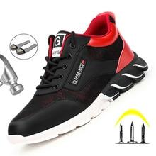 Men's Work Shoes Men Boots Indestructible Sneakers Working Boots
