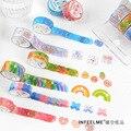 Одиночная упаковка и бумажная лента, мягкая основа руля серии sweetie, декоративные канцелярские принадлежности
