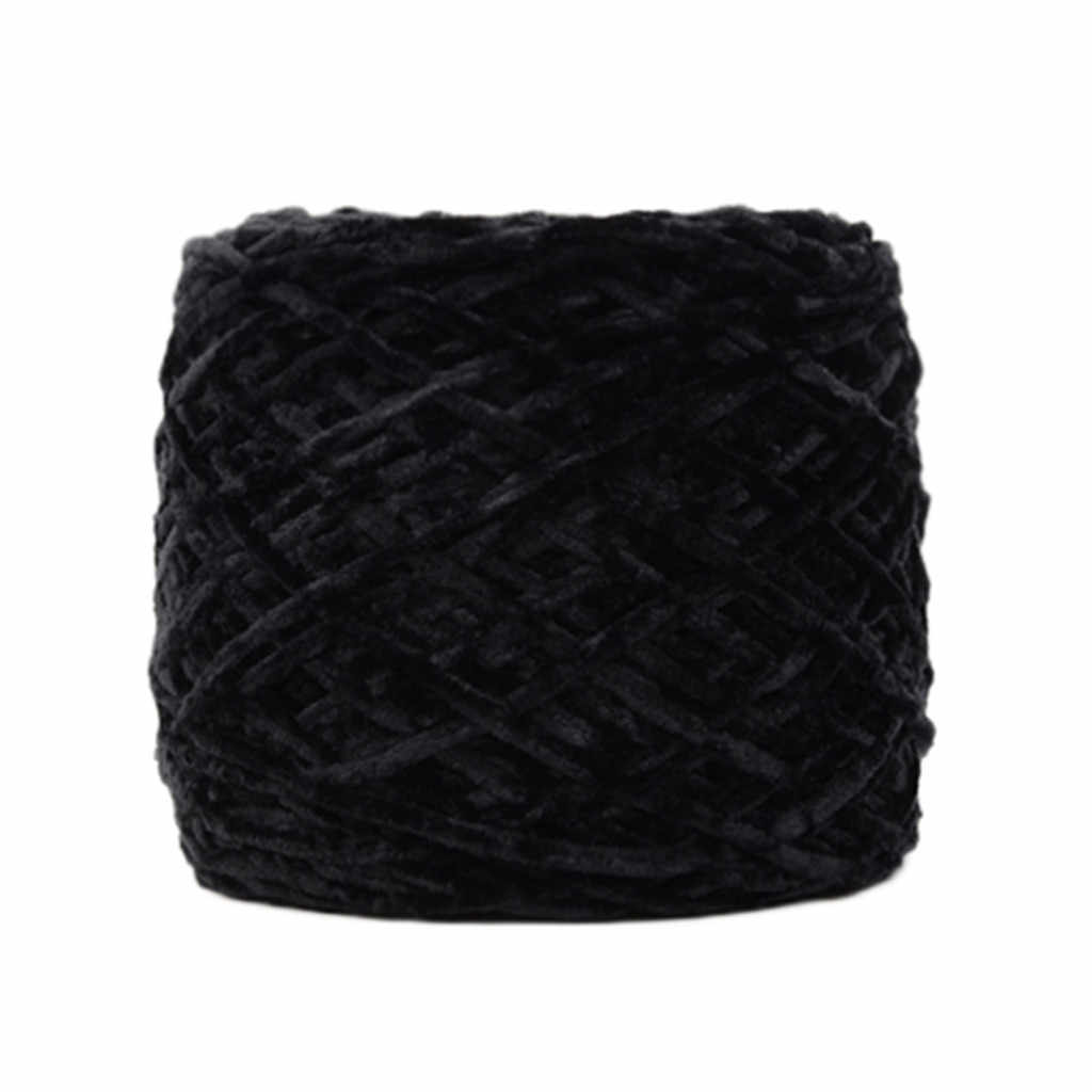 골드 벨벳 원사 로빙 스카프 니트 양모 원사 두께 따뜻한 모자 의류 바느질 원사 손 뜨개질 양모 크로 셰 뜨개질 가구