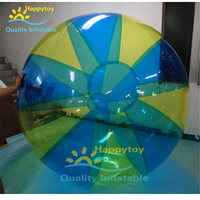 Latest crazy giant inflatable floating jumbo water ball,water walking ball for sale