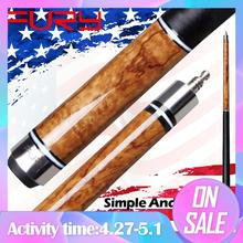 цена на FURY Official Store Pool Cue NA6 11.75mm&13mm Tiger Tip Cue Stick Selected Maple Shaft Taco Cue Professional Billiard Cue Newly