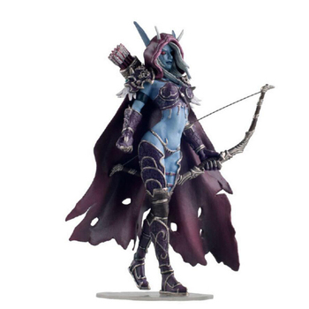 14CM Windrunner Darkness Ranger Lady PVC WOW Sylvanas Action Figure Toys Anime Action Figure Model Kids Toys wow action figure dc unlimited series 4 9 inch deluxe medusa lady vashj wow pvc model toy free shipping