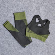 Одежда для тренировок с цветными застежками женщин леггинсы