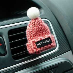 Car Styling Handmade Hat Shape Air Freshener Clip Air Condition Vent Perfume Original Fragrance Scent Automobile Accessories