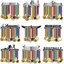 ランニングメダルハンガーステンレス鋼メダルホルダースポーツメダルディスプレイハンガーランナー