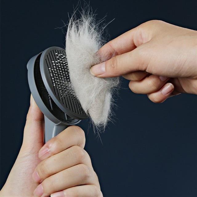 Pet Hair Removal & Grooming Brush 6