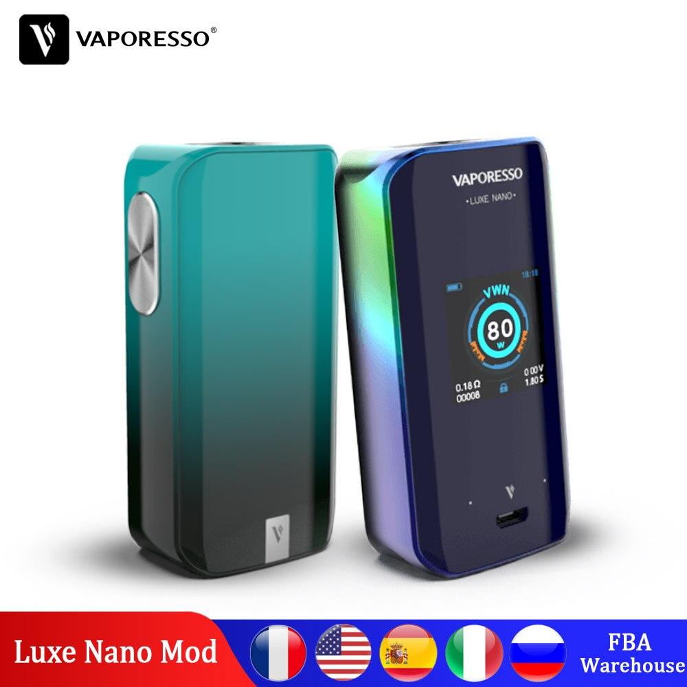Original Vaporesso Luxe Nano 220W Box Mod E-cigarette Vape Mods With 2500mAh Built In Battery For SKRR S NRG SE VM 510 Tank