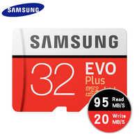 Scheda di Memoria SAMSUNG Micro SD 256GB 32GB 64GB 128GB 512G SDHC SDXC Grado EVO + classe 10 C10 UHS Schede di DEVIAZIONE STANDARD TF Trans Flash Microsd