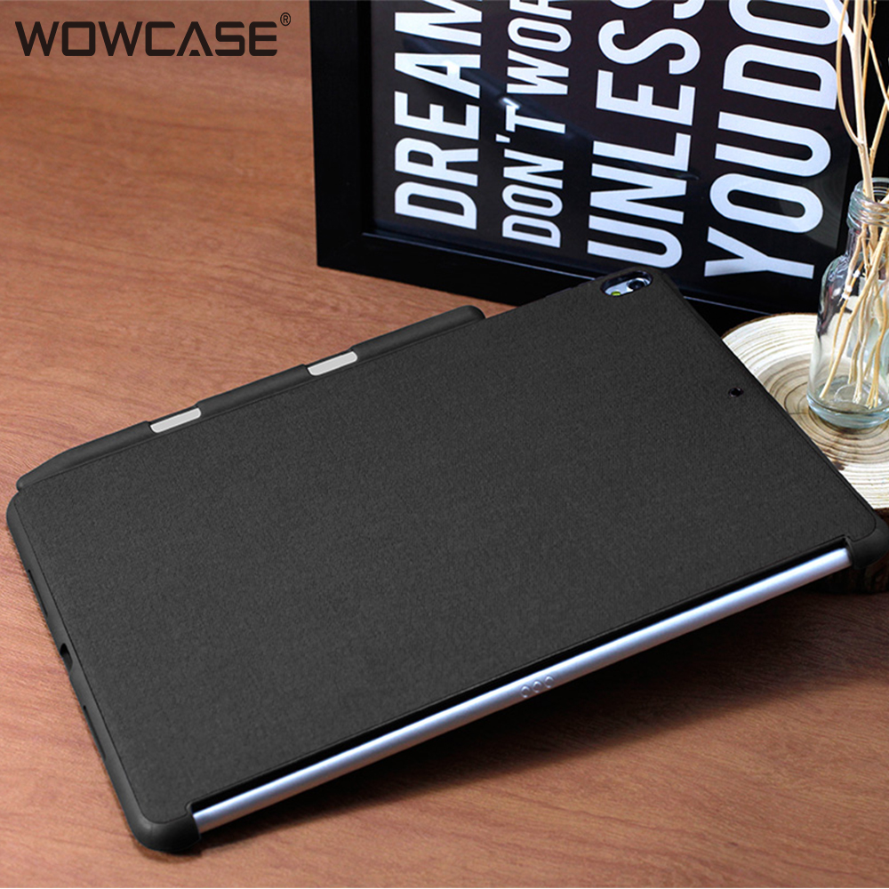WOWCASE Protector Cases For iPad Pro 12.9 Pencil Holder Ultra Thin Soft Edge Protective Back Cover For iPad Pro 12.9 2017/2015 image