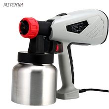 Electric Spray Gun 220V High Power 800W Home Electric Paint Sprayer 2 Nozzle Easy Spraying and Clean