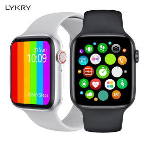 LYKRY IWO W26 Smart Watch Series 6 Bluetooth Call ECG Heart Rate Monitor 1.75 inch Full Touch Screen Smart Bracelet PK IWO 12