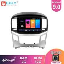 EKIY – lecteur DVD de voiture pour Hyundai H1 Grand Starex 9.0 – 18, autoradio stéréo, enregistreur vidéo, GPS, Android 2015, 4G, 2.5D, IPS