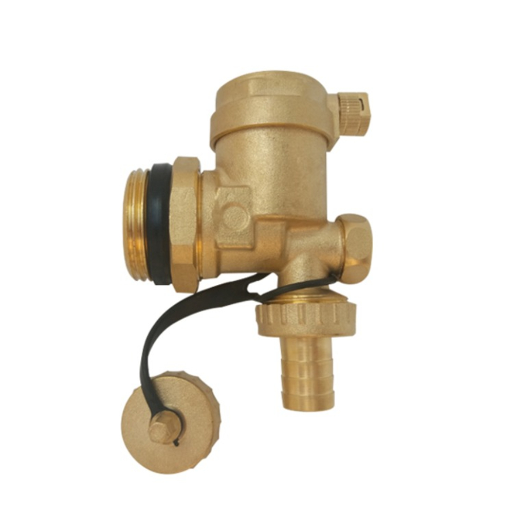 Floor Heating Water Trap Automatic Exhaust Valve Geothermal Water Trap Drain Valve