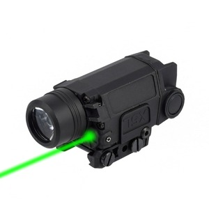 Image 3 - 2in1 전술 X5L LED 손전등 콤보 녹색 레이저 시력 범용 권총 총 미라 레이저 Pistola Airsoft Glock 17 19 시리즈