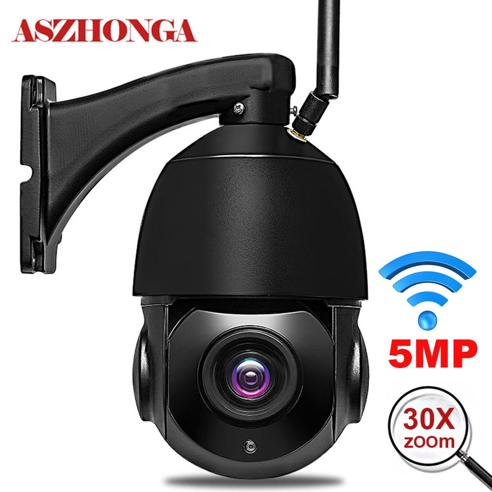 5MP 3MP беспроводная Wifi камера безопасности на открытом воздухе 1080P HD 30X оптический зум домашняя IP камера 80 м ИК Ночное Видение ONVIF наблюдение