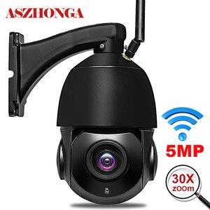 Image 1 - Cámara de seguridad inalámbrica con Wifi para exteriores, dispositivo de vigilancia ONVIF con Zoom óptico de 1080 MP, 3MP, HD 30X, IP para el hogar, visión nocturna IR de 80M