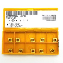 Lathe-Tools CCMT060204 Turning-Insert US735 Metal 10pieces High-Quality