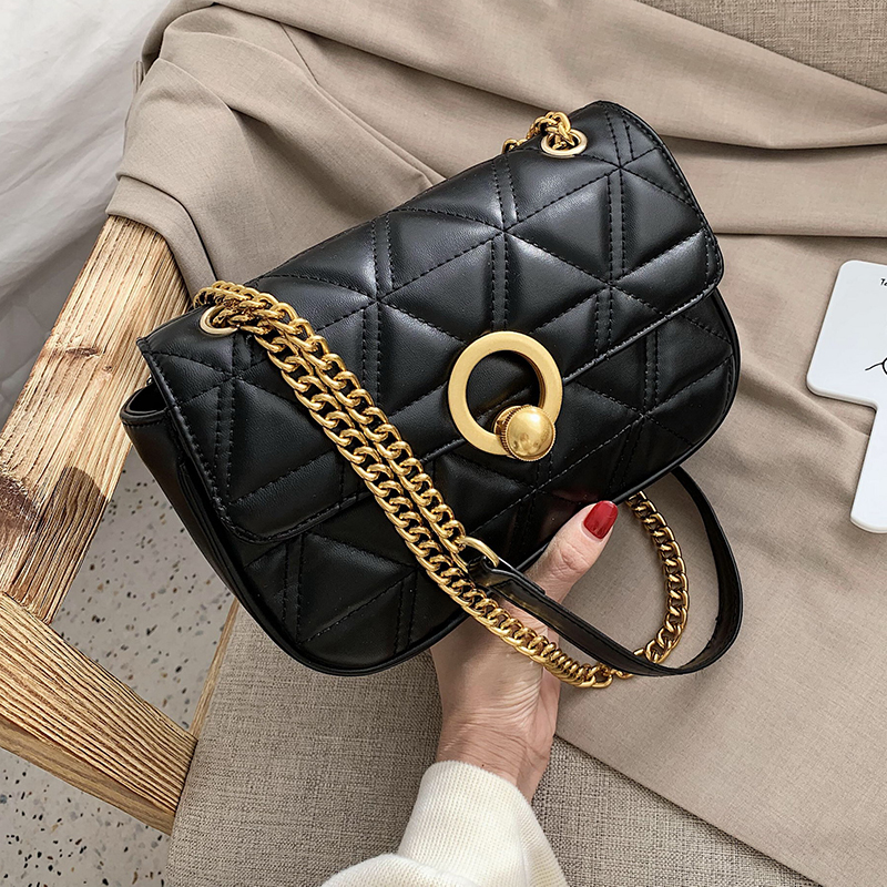 Mini Pu Leather Crossbody Bags For Women 2020 Fashion Chain Shoulder Messenger Bag Female Travel Handbags And Purses