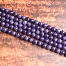 Purple Dragon Crystal Natural Stone Beads Loose Stone Beads For Jewelry Making DIY Bracelets Necklace Accessories 4/ 6/8/10mm
