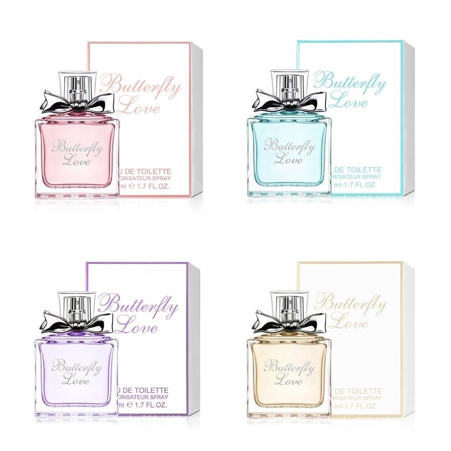 50ml Women Perfumed Romantic Fragrance Long Lasting Female Natural Lady Parfum Fragrances Original Liquid Antiperspirants