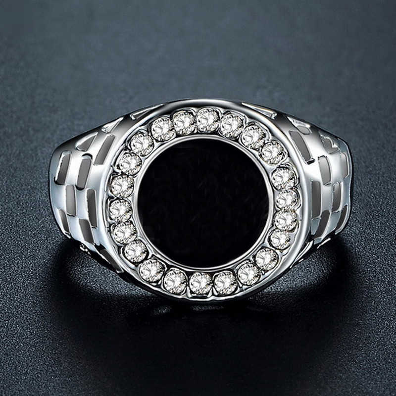 Iutopian ยี่ห้อแหวน Angels สำหรับ Men และ Women Hero Us ใหญ่ขนาด 7 ถึง 12 # PB0001