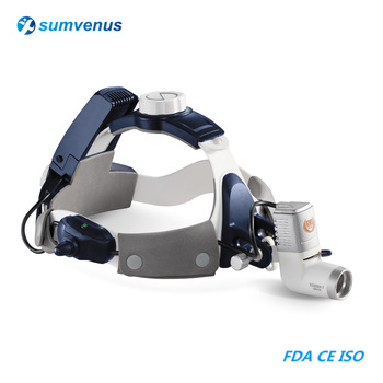 цена на Dental headlamp Surgical headlight Medical Examination LED adjustable High intensity Wireless  chargeable Head Light Lamp ENT